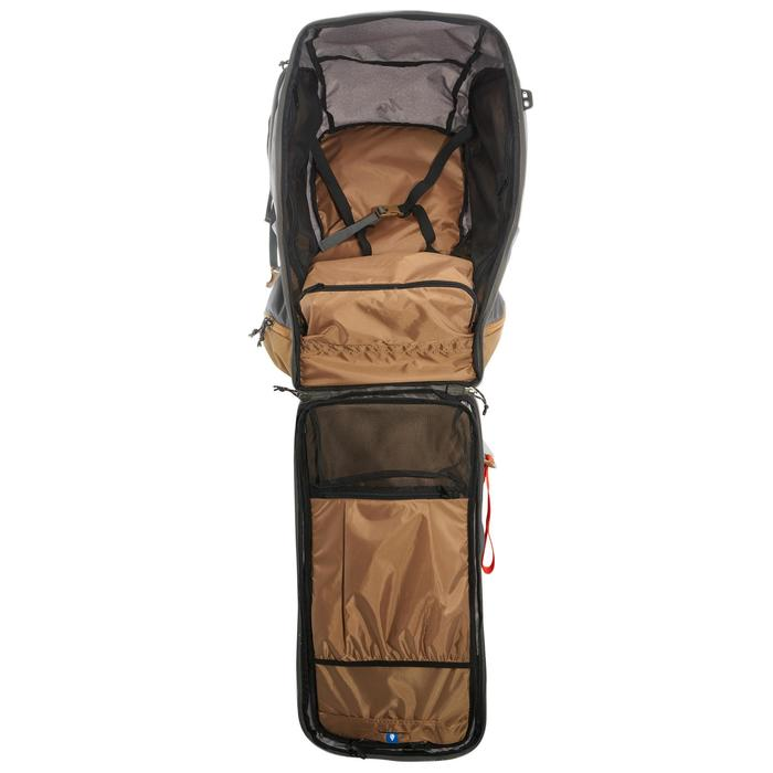 Travel 500 Women's 70L Lockable Backpack - Grey - 1110075