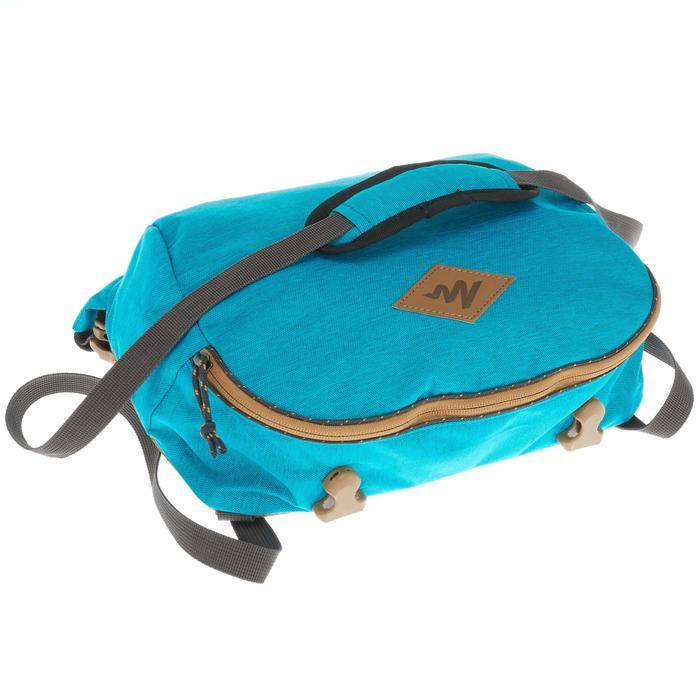 Sac à dos Trekking TRAVEL 500 Femme 50 litres cadenassable bleu - 1110086
