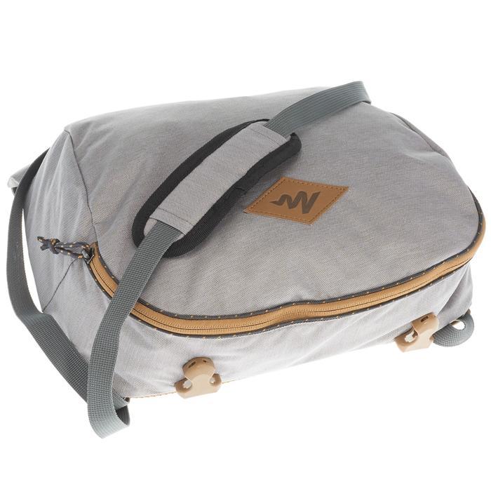 Sac à dos Trekking Travel 500 Femme 70 litres cadenassable gris - 1110108