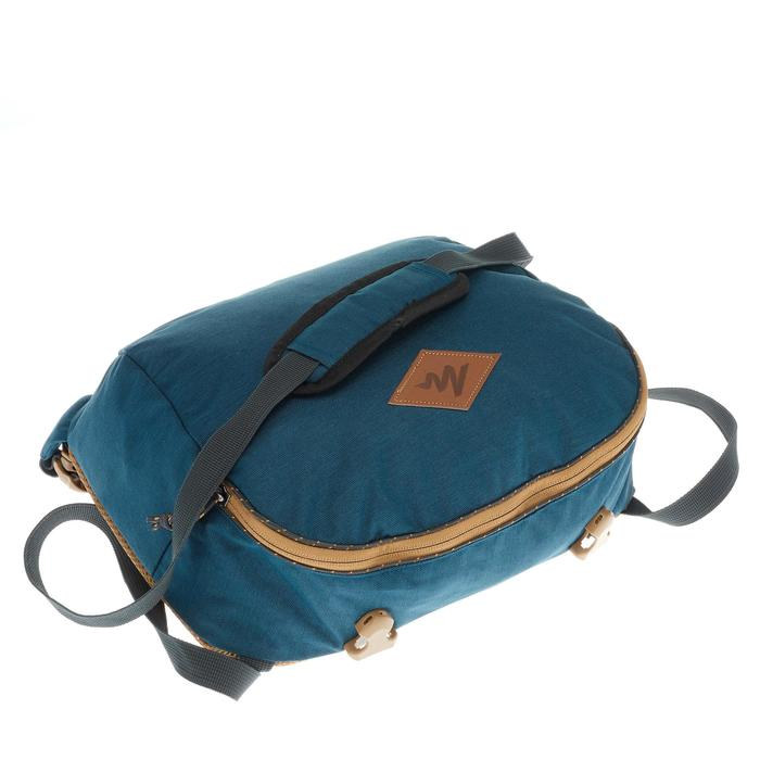 Sac à dos Trekking  TRAVEL 500 Homme  70 litres cadenassable  bleu - 1110111