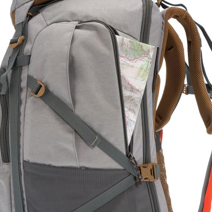 Travel 500 Women's 70L Lockable Backpack - Grey - 1110124