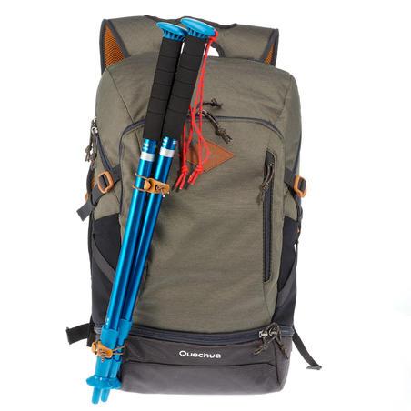 Mochila Pequeña De Montaña y Trekking Qechua NH500 30L Caqui