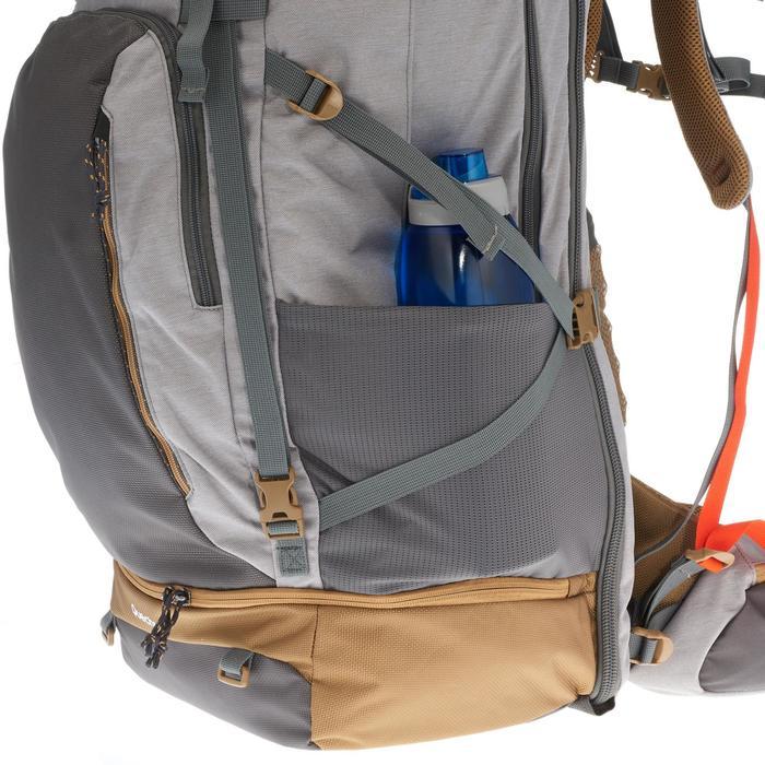 Travel 500 Women's Trekking 70L Backpack with Padlock - Grey