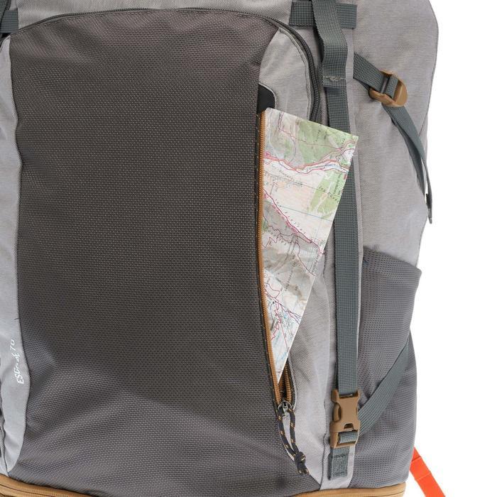 Sac à dos Trekking Travel 500 Femme 70 litres cadenassable gris - 1110127