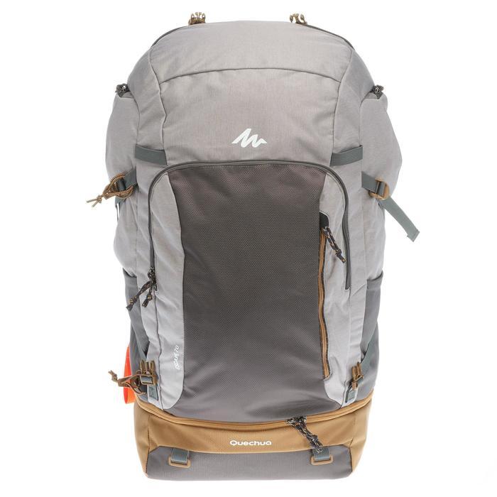 Travel 500 Women's 70L Lockable Backpack - Grey - 1110129