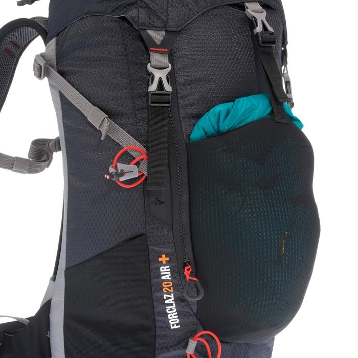 MH500 20 LITRE MOUNTAIN HIKING BACKPACK - BLACK