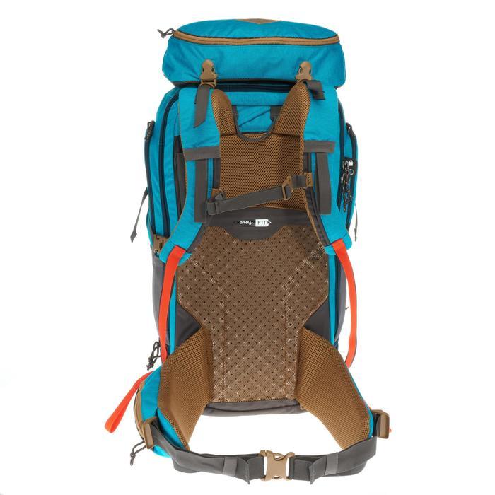 Sac à dos Trekking TRAVEL 500 Femme 50 litres cadenassable bleu - 1110141