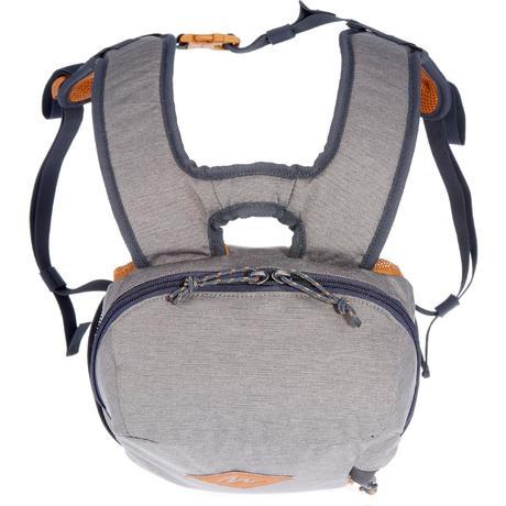 sac dos escape 10 litres gris kaki quechua. Black Bedroom Furniture Sets. Home Design Ideas