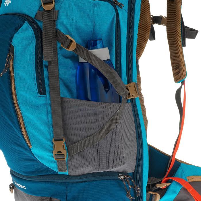 Sac à dos Trekking TRAVEL 500 Femme 50 litres cadenassable bleu - 1110168