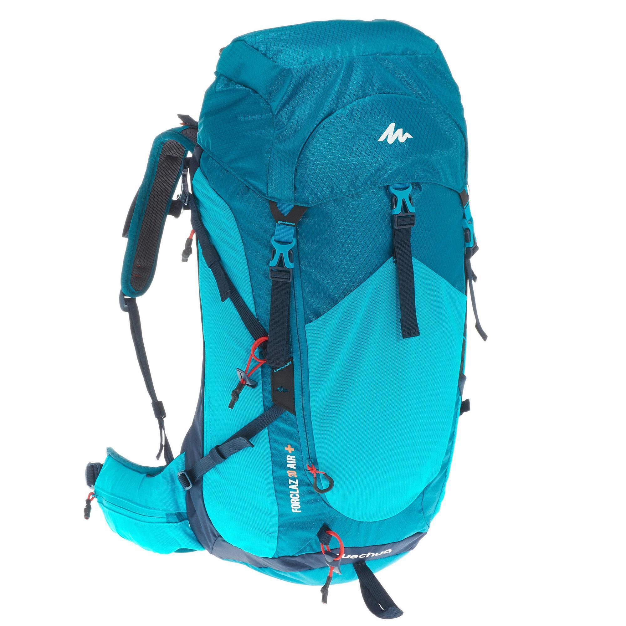 Mh500 30 L Hiking Backpack Blue Quechua