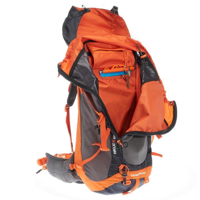 diseño atemporal e5996 f1e4b Mochila de Montaña y Trekking Quechua MH500 40 Litros Negro Naranja