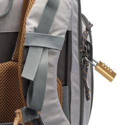 女款70L可上鎖背包Travel 500 - 灰色