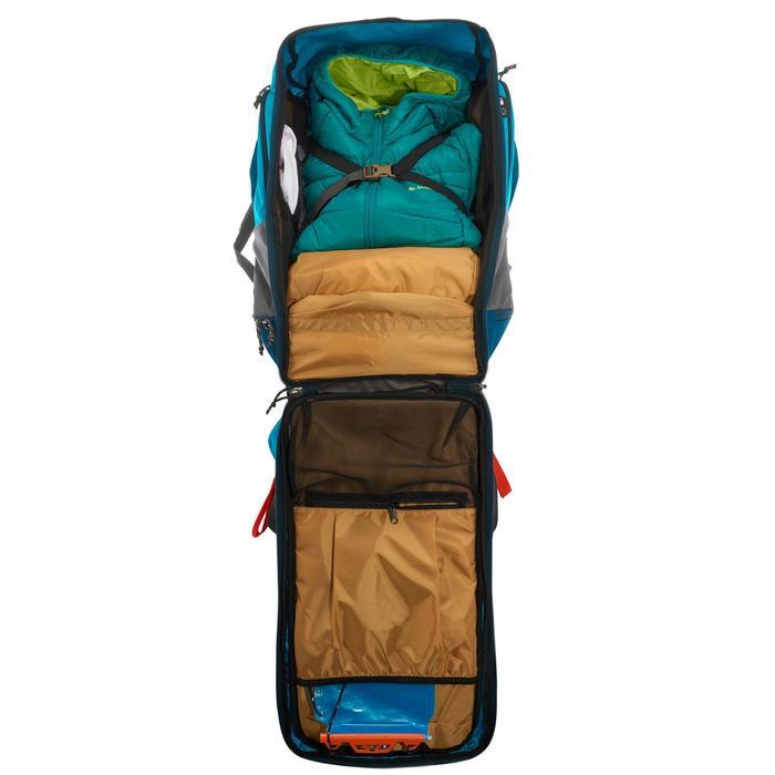 Sac à dos Trekking TRAVEL 500 Femme 50 litres cadenassable bleu - 1110189