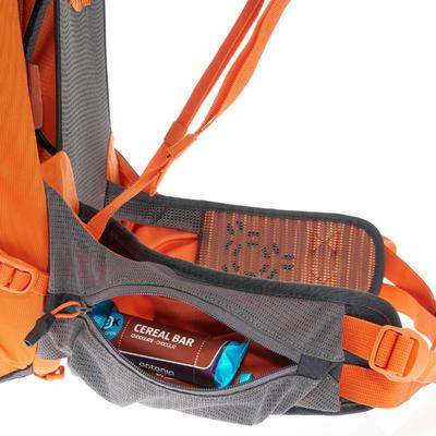 MH500 40L Mountain Hiking Backpack - Black Orange