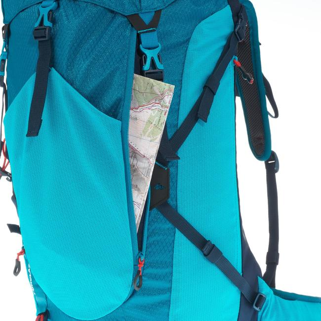 HIKING BACKPACK 30 L (with Raincover) MH500 - BLUE