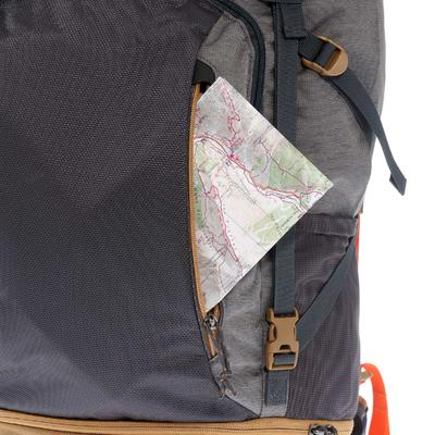 حقيبة ظهر رجالي Escape قابلة للغلق 50 لتر- لون رمادي.