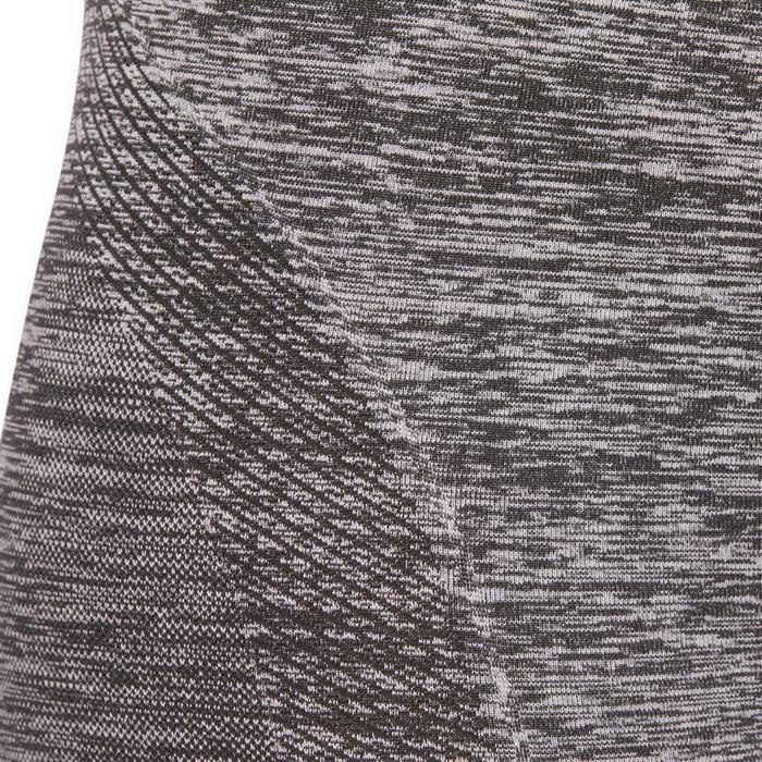 Legging YOGA sans coutures femme 7/8 chiné - 1110469
