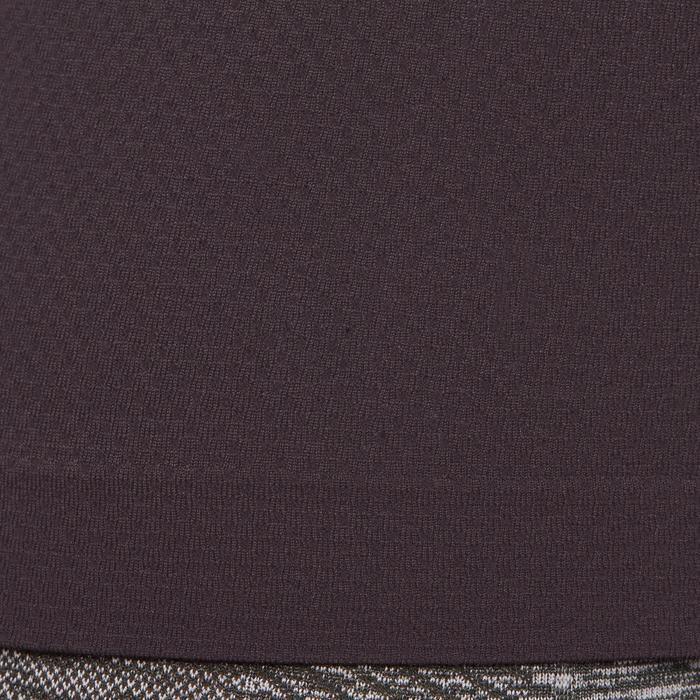 Débardeur sans coutures Yoga femme gris/bleu - 1110486