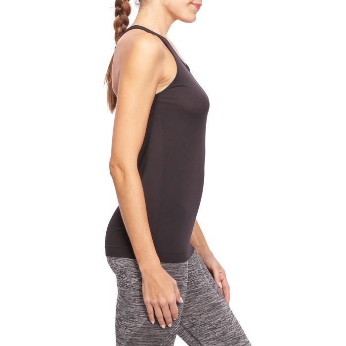 Débardeur sans coutures Yoga femme gris/bleu - 1110508