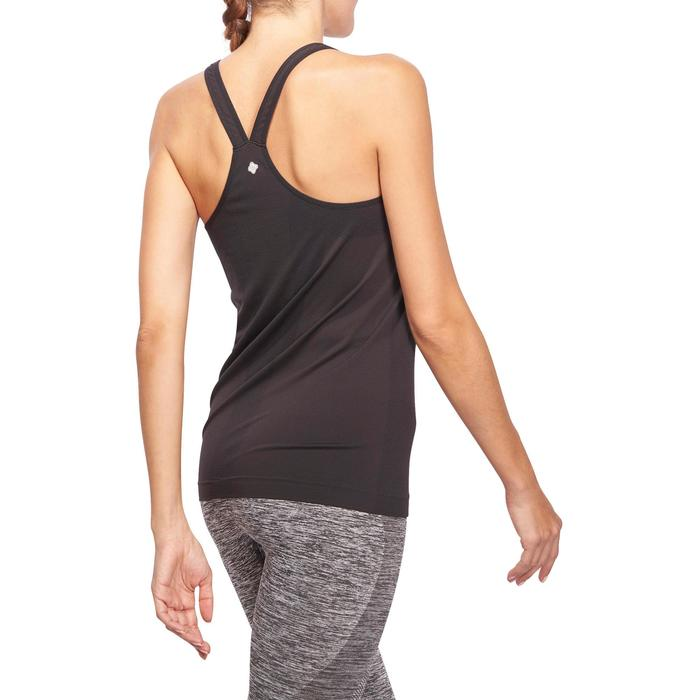 Débardeur sans coutures Yoga femme gris/bleu - 1110577