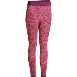 Naadloze 7/8-legging Yoga+ voor dames