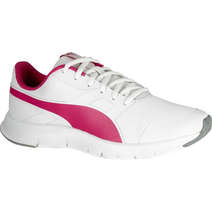 Chaussures marche sportive enfant Flex Racer blanc /  rose - 1110673