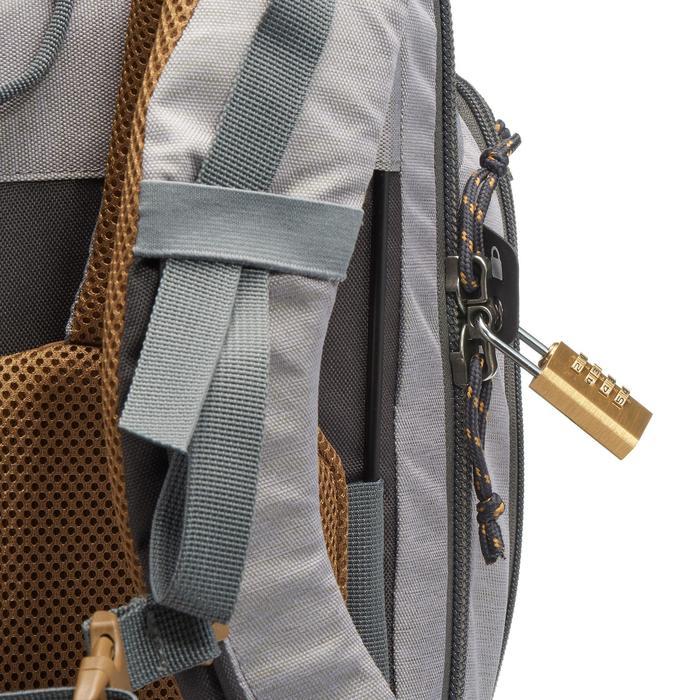 Sac à dos Trekking Travel 500 Femme 70 litres cadenassable gris - 1110686