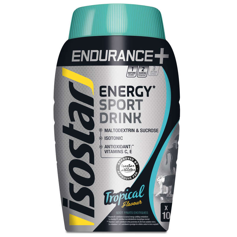 HIDRATARE ȘI PREGĂTIRE Triatlon - LongEnergy SportDrink Tropical ISOSTAR - Nutritie - Hidratare