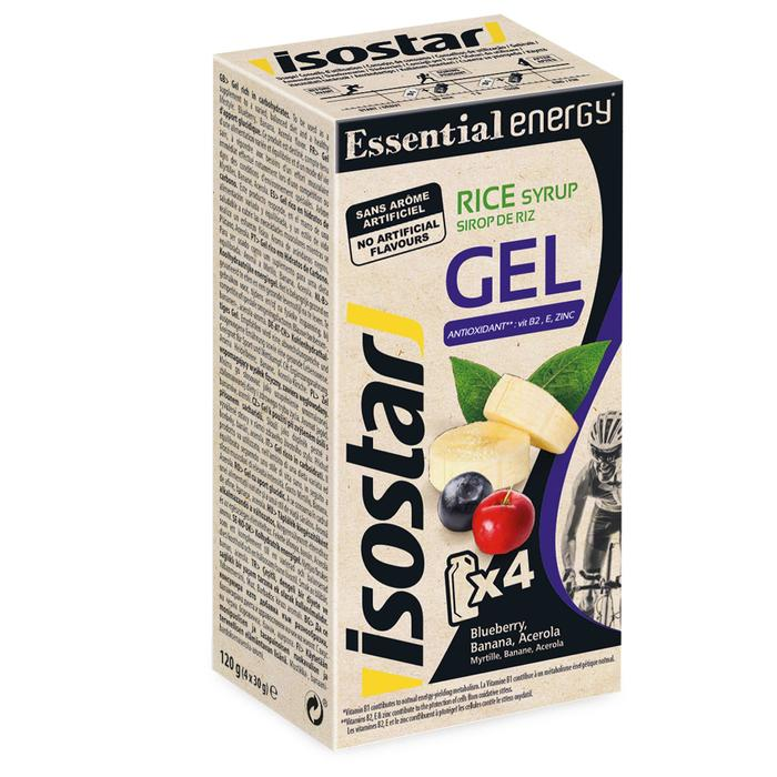 Gel énergétique ESSENTIAL ENERGY GEL banane myrtille  4x30g
