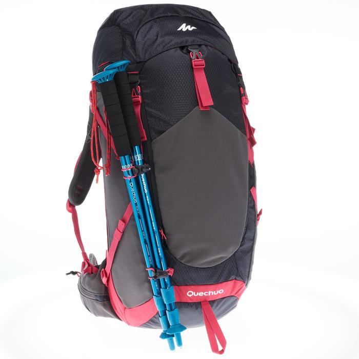klare Textur Qualitätsprodukte neueste Wanderrucksack Bergwandern MH500 30 Liter Damen schwarz/rosa