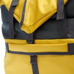 健行擴充運輸包80至120 L-黃色