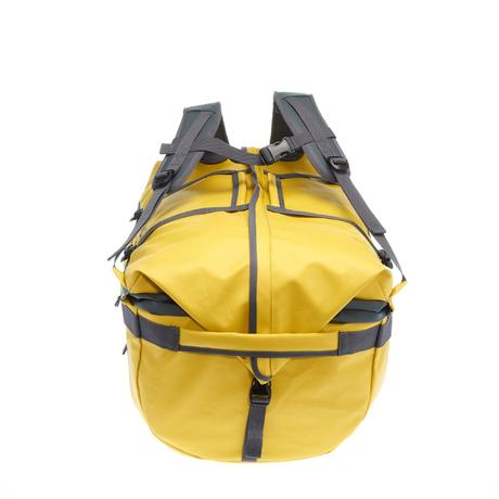 sac de transport trekking voyage extend 80 120 litres jaune quechua. Black Bedroom Furniture Sets. Home Design Ideas