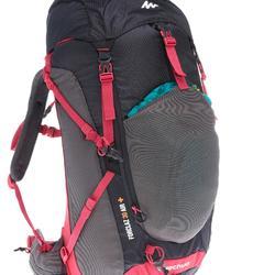 Mochila de Montaña y Trekking Quechua MH500 30 Litros Mujer Negro Rosa