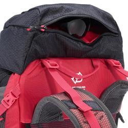 Rucksack Bergwandern MH500 30 Liter Damen schwarz/rosa
