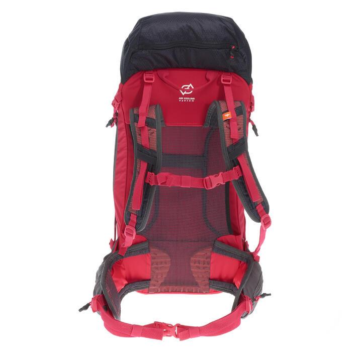 c058d5816 Mochila de Montaña y Trekking Quechua MH500 30 Litros Mujer Negro Rosa