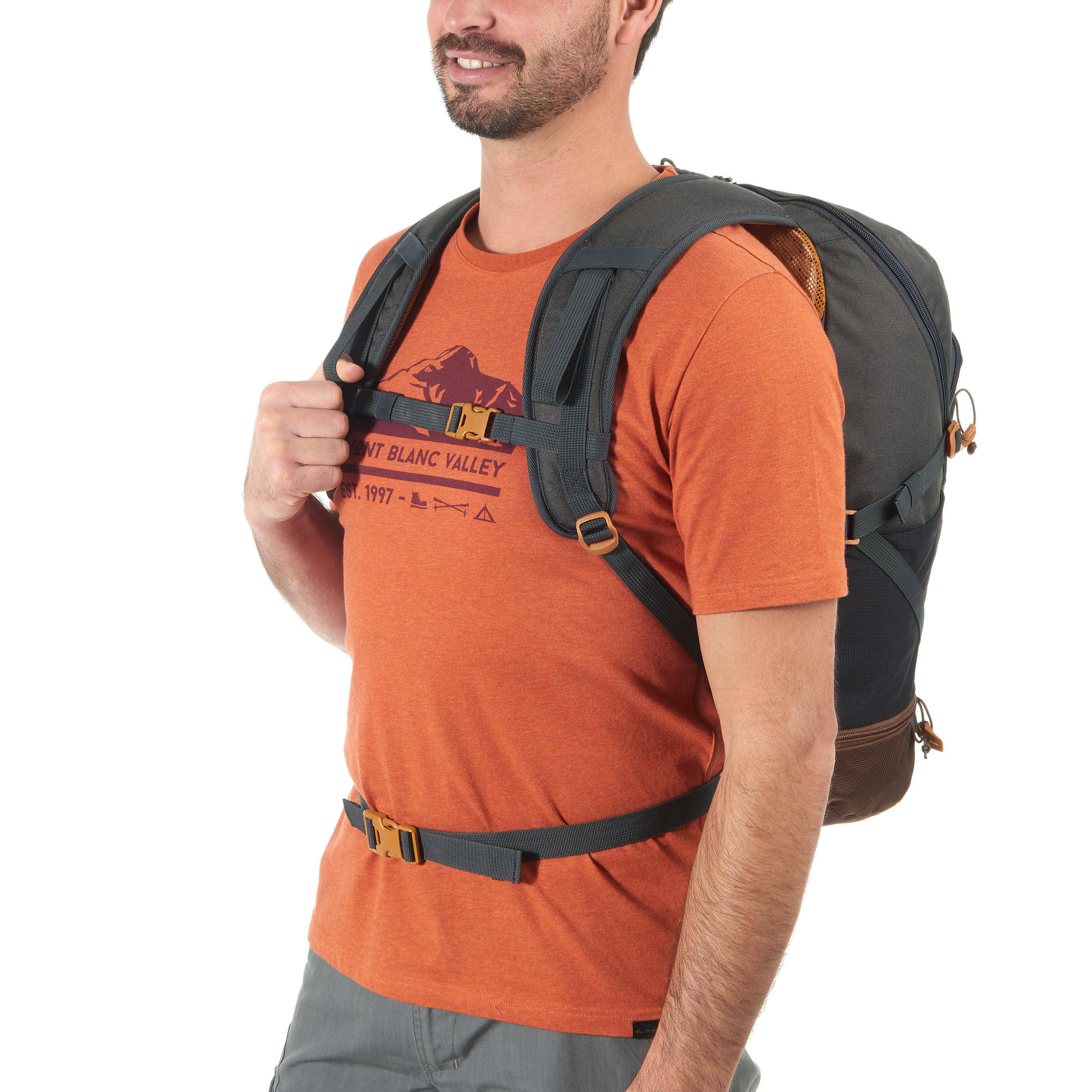 2941b8433045 Quechua Nh500 30l Hiking Backpack Dark Grey   The Shred Centre