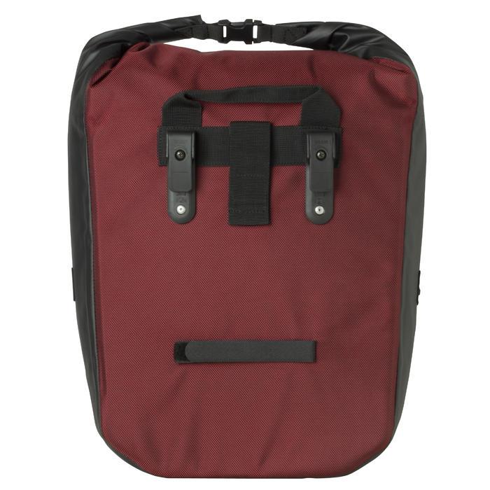 b 39 twin sacoche porte bagage velo 500 20l impermeable. Black Bedroom Furniture Sets. Home Design Ideas