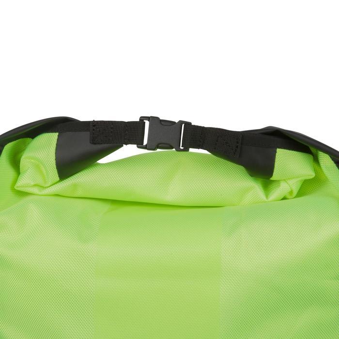 Fahrradtasche 500 für Gepäckträger wasserdicht 20 l neongelb