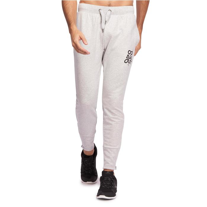 Pantalon skinny Gym & Pilates homme gris clair
