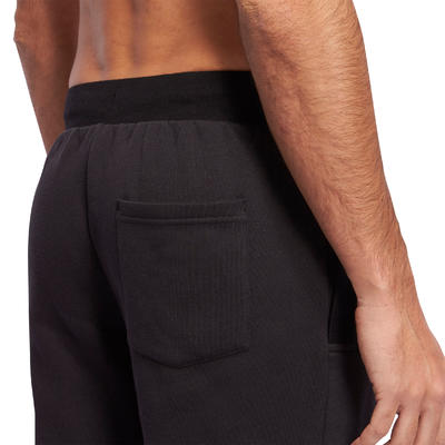 920 Regular-Fit Gym Stretching Bottoms - Black