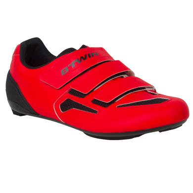 CHAUSSURES VELO 500 ROUGE
