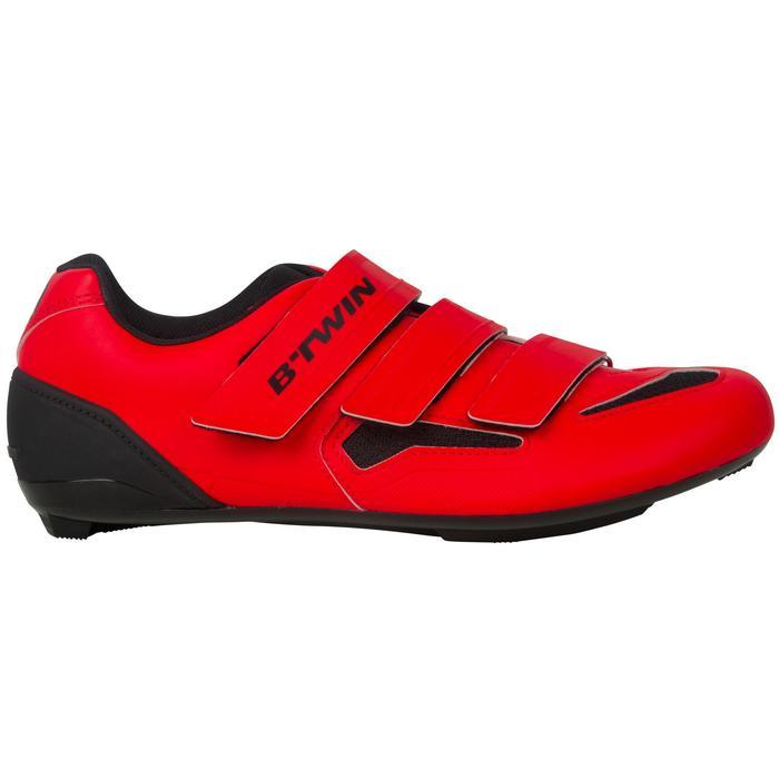 Fietsschoenen 500 rood