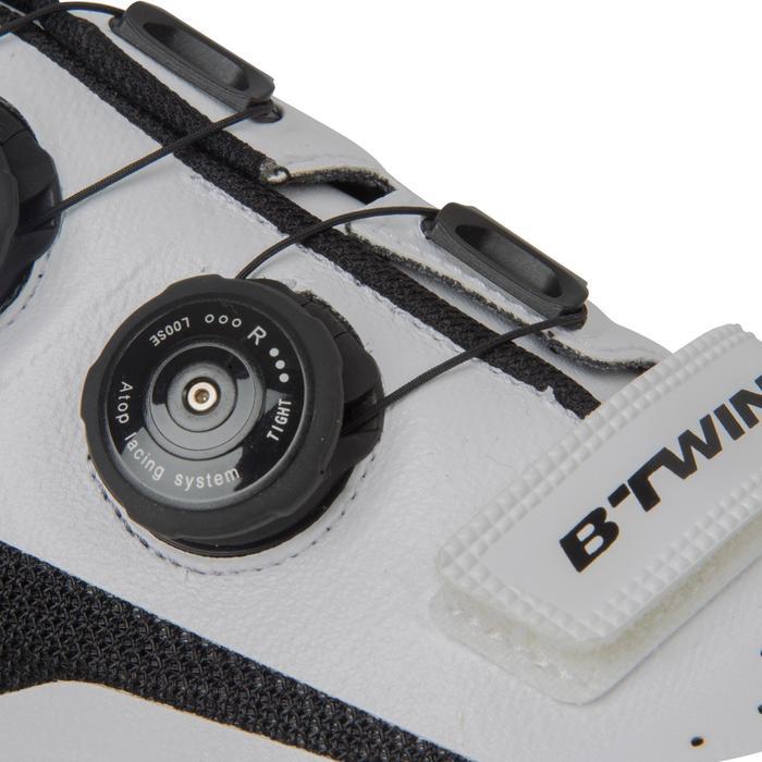Fahrradschuhe Rennrad 900 Aerofit Carbon weiß
