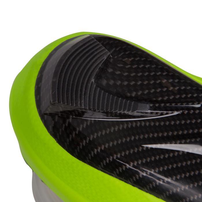 Fahrradschuhe 900 Aerofit Carbon neongelb