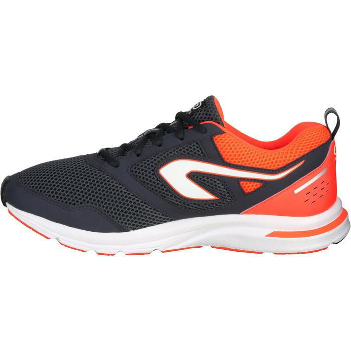 RUN ACTIVE MEN'S RUNNING SHOES - BLACK