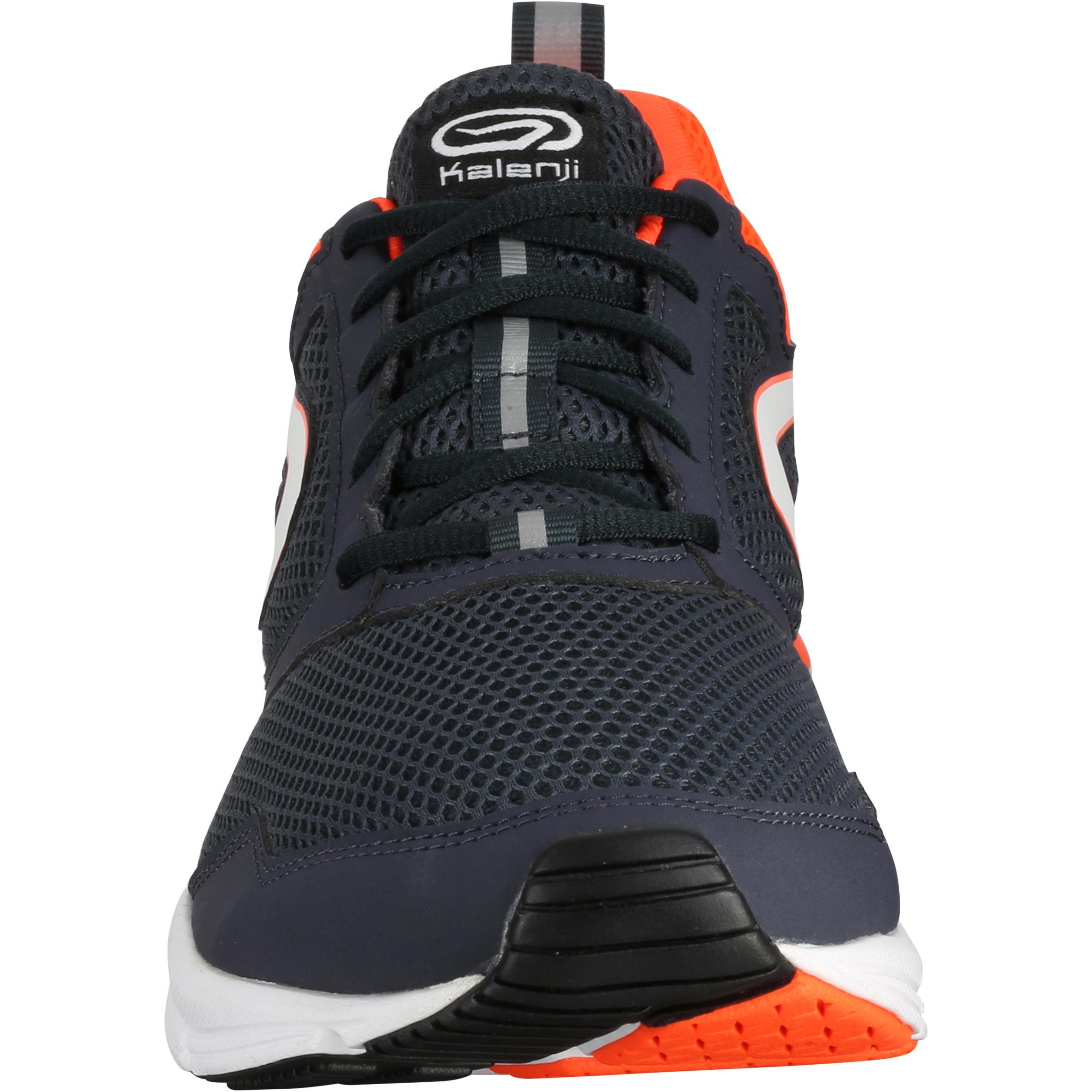 RUN ACTIVE MEN'S RUNNING SHOES - BLACK