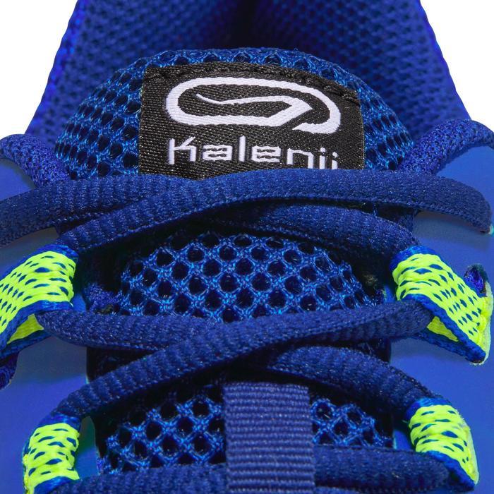 Hardloopschoenen voor heren Run Active Grip blauw/geel
