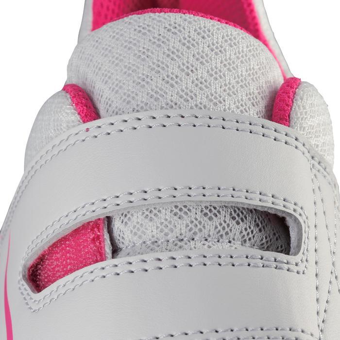 Hardloopschoenen voor kinderen Ekiden One lichtgrijs/roze
