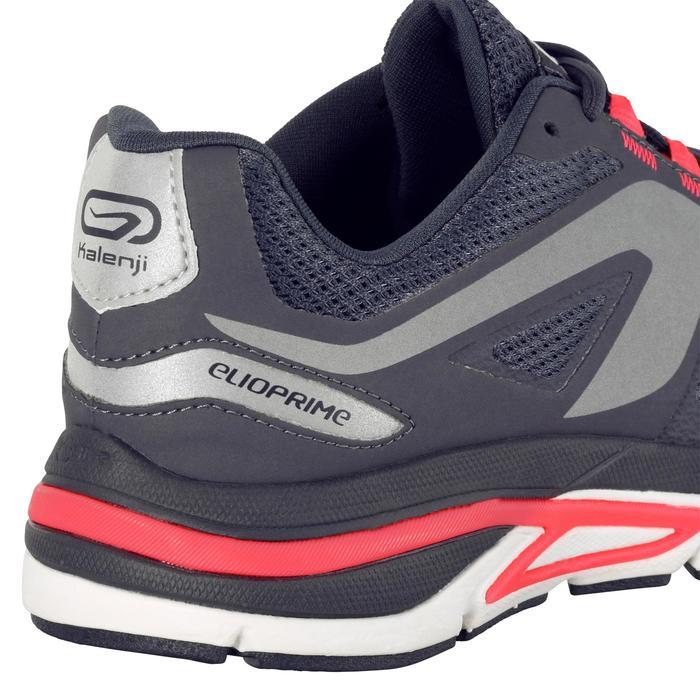 Joggingschoenen voor dames Run Elioprime grijs/koraalrood