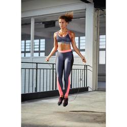 Comba para saltar Cardio Fitness Domyos 100 adultos negro